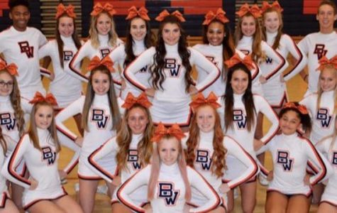 Briar Woods Cheer Took on States Once Again